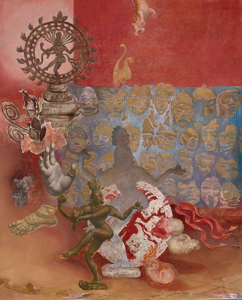 nataraja sacred painting